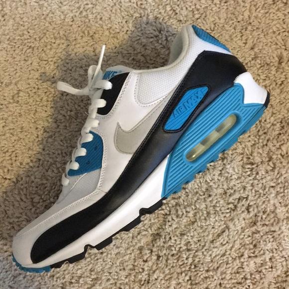 Muestra Flojamente clímax  Nike Shoes   Nike Air Max 9 Laser Blue 200   Poshmark